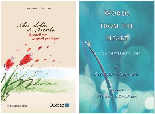 «Au-delà des mots: Recueil sur le deuil périnatal» De Sarah Bachand et Caroline Labrie
